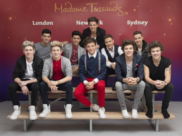 Why are the one direction wax figures scary af now team fangirl xthankyouharryx m4hsunfo