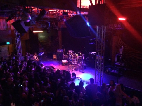 View from the upstairs bar at the Troubadour // Lindsay Webster for Team Fangirl