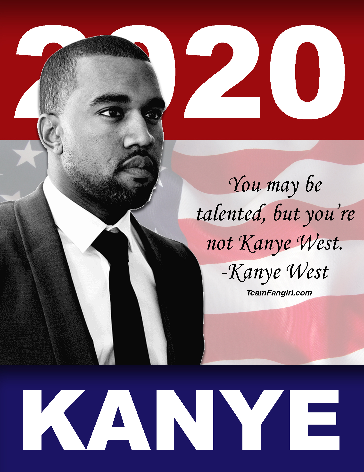 Kanye West's (Un)official 2020 Campaign Posters | Team Fangirl